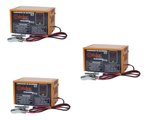 Cargador Para Baterías De Gel 12 V Automático Modelo At 2