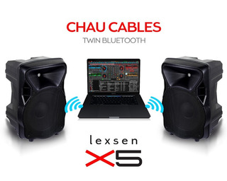 Lexsen X5 Parlante 15 Bluetooth 150w Rms Sin Cables Twins