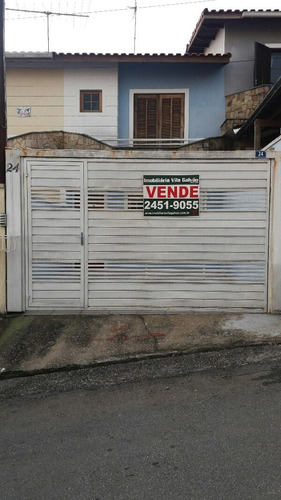 Sobrado Com 3 Dormitórios À Venda, 110 M² Por R$ 490.000,00 - Vila Harmonia - Guarulhos/sp - So0126