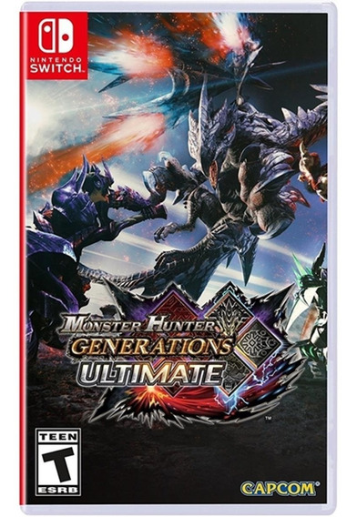 Monster Hunter Generations Ultimate Switch Envio Imediato