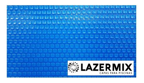 Capa Térmica Piscina 3,80 X 2,20 -  500 Micras - Azul