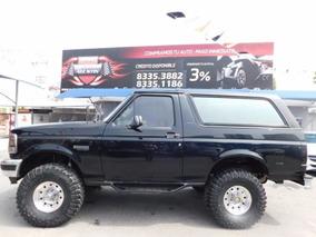 Ford Bronco Negro 1995