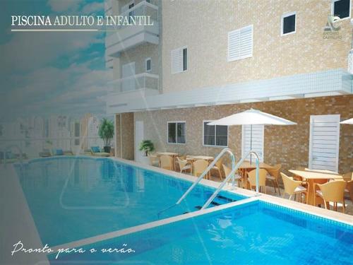 Imagem 1 de 12 de Apartamento, 2 Dorms Com 89.78 M² - Campo Da Aviacao - Praia Grande - Ref.: Gim6023714 - Gim6023714