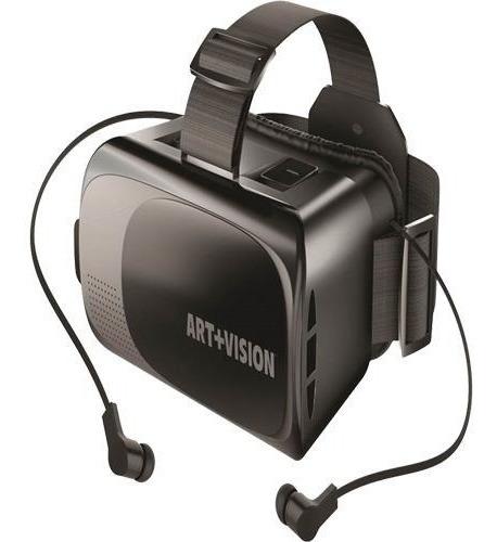 Art+visión Lentes De Realidad Virtual Con Auriculares
