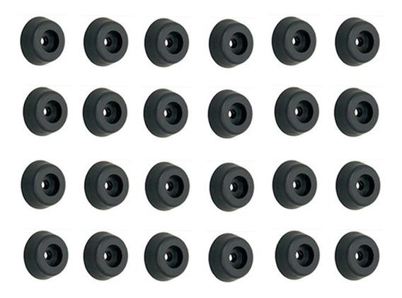 24 Pé De Borracha Para Caixa Som Acústica