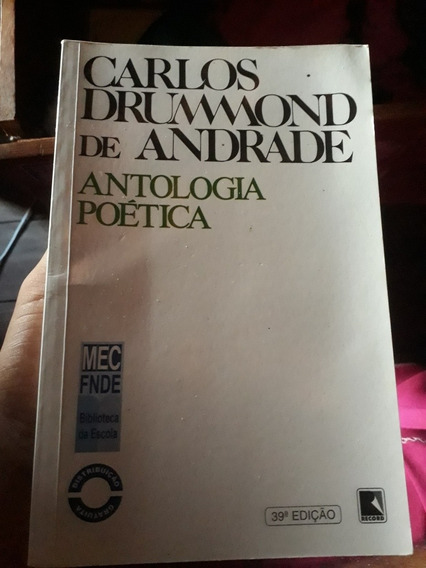 Livro, Carlos Drummond De Andrade, Antologia Poética