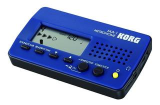 Korg Ma1 Metronomo Digital Con Salida Auricular Azul Ma