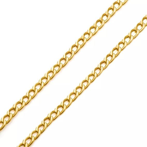 Corrente De Ouro 18k 6.5g 70 Cm
