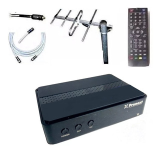 Kit Completo Tv Digital Antena Ext Sintonizador Tda Exc.