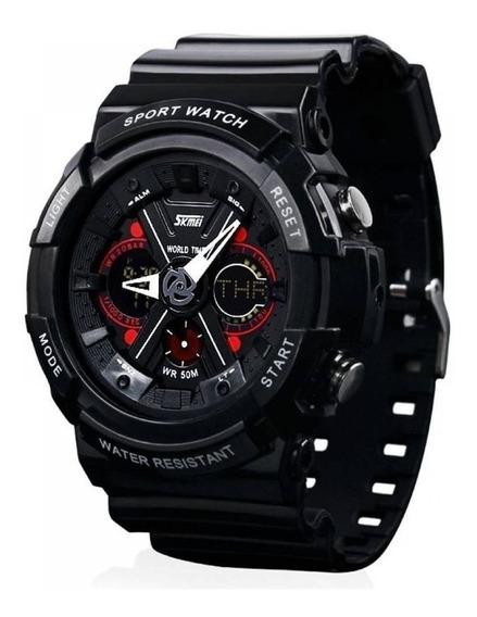 Relógio Masculino Skmei Anadigi 0966