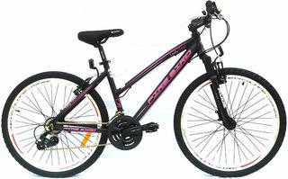Bicicleta Fire Bird Lady Tour City R27.5 21v Freno A Disco