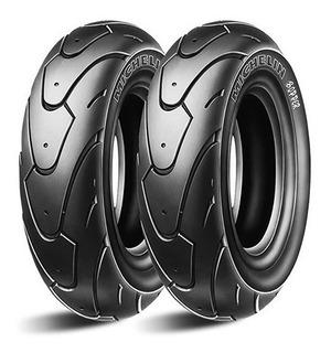Juego Llantas 130/120/70 12 Michelin Bopper Vespa Yamaha Bws