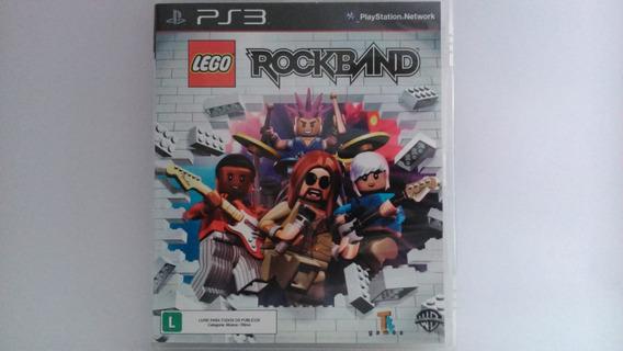 Jogo Ps3 Lego Rock Band Mídia Física