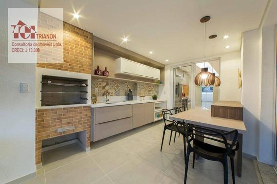 Apartamento Com 4 Dormitórios À Venda, 327 M² Por R$ 2.305.000,00 - Campestre - Santo André/sp - Ap2090