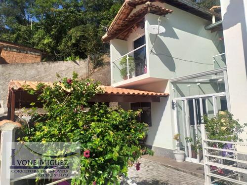 Casa 02 Pavimentos Em Vila Margarida  -  Miguel Pereira - 2099