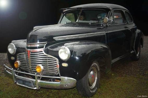 Ford Coupe 1941 41 - Placa Preta - Original