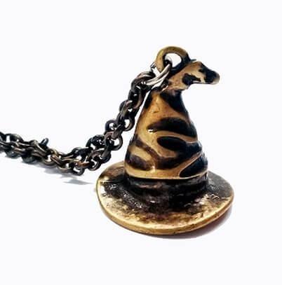 Colar Harry Potter Chapéu Seletor Modelo 3