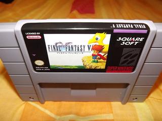 Final Fantasy V Español Repro Super Nintendo Snes