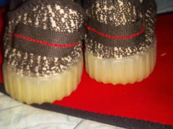 Zapatos Yeezy Gris Camuflado Con Suela De Silicon