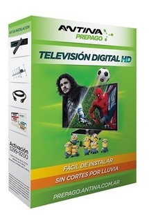 Pack Antina Prepago Television Hd