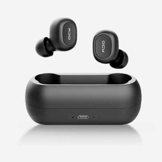 Qcy T1 Tws Bluetooth Sem Fio Esporte Headphone Hifi Preto