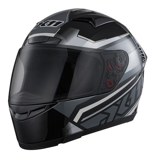Capacete De Moto Fechado X11 Volt Dash Motociclista Preto Nf