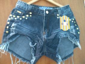 Shorts Jeans Dobrandinho