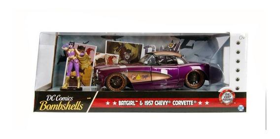 Vehículo De Bat Girl Chevy Corvette 1957