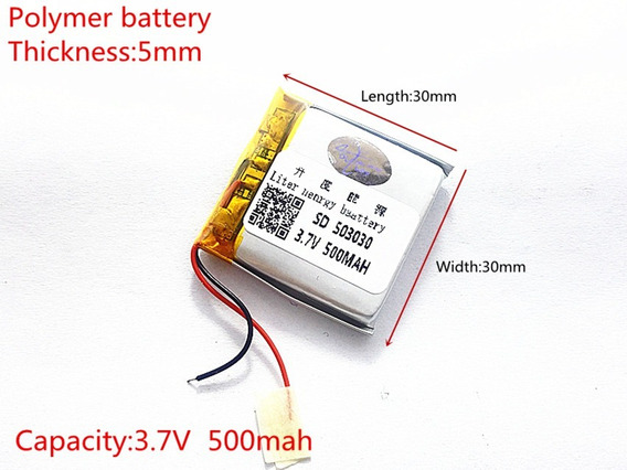 Bateria Rastreador Coban Gps 303g 5mm X 30mm X 30mm