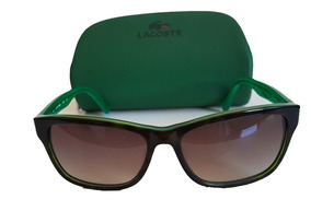 1138a2e7c Óculos De Sol Lacoste no Mercado Livre Brasil