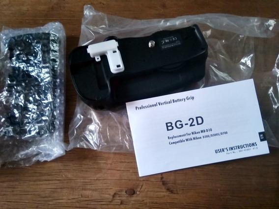 Battery Grip Profissional Para Nikon D300 D300s D700 Câmera