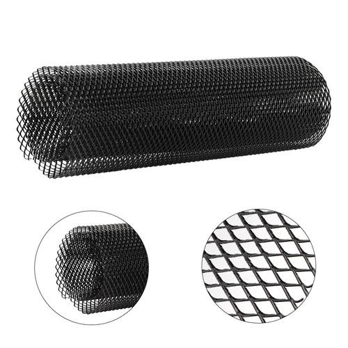 aleaci/ón de aluminio rejilla de rejilla de coche parachoques malla de ventilaci/ón rejilla r/ómbica Universal Rejilla de rejilla de coche 4x8mm