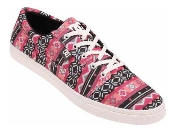 Zapatillas Dc Tonik Sp Adjs3000043 Rosa Mujer (nuevas) 36