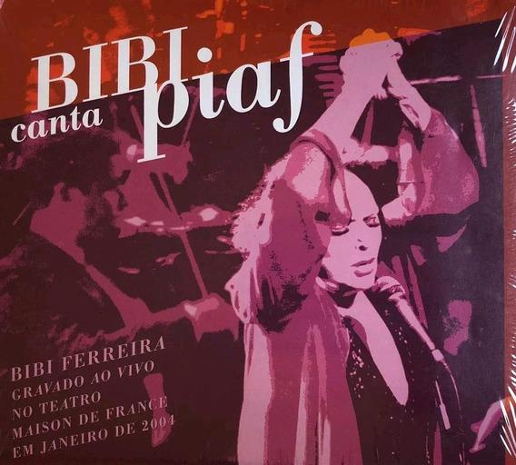 Bibi Ferreira - Bibi Canta Piaf - Cd - Novo