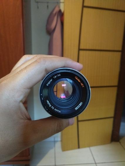 Lente Rollei- Hft Planar 1.8 50mm