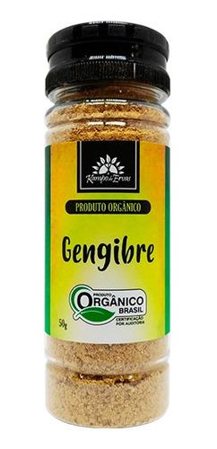 Gengibre Puro Em Pó 50 G - Orgânico E Certificado (ginger)