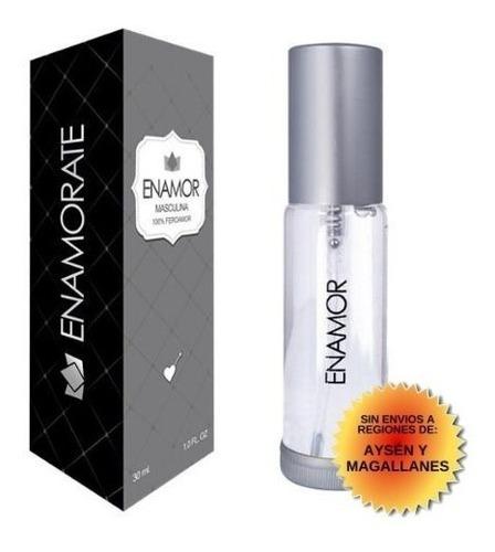 Perfume Feromonas Enamor 100% Concentración Para Hombre 30ml