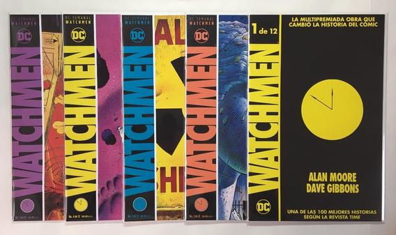 Watchmen 12 Números Serie Completa Español Ed. Televisa