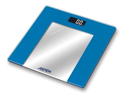 Imagen 1 de 10 de Balanza Digital Personal Vidrio Hasta 150kg Lcd Aspen B010
