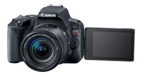 Câmera Sl2 Ef-s 18-55mm Is Stm + Cartão 64gb
