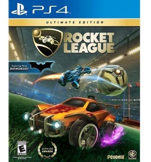 Rocket League Ultimate Edition Ps4 Mídia Física Em Português