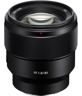 Sony Lente Sel Fe 85mm F/1.8 (sel85f18)