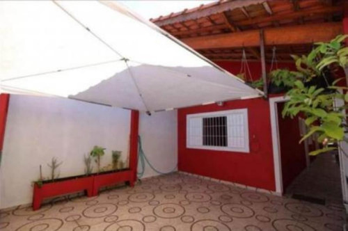 Imagem 1 de 14 de Linda Casa Com Piscina No Belas Artes Em Itanhaém - 4804 Npc