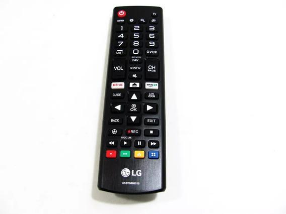 Controle Remoto Lg Original 43lk5750psa 43lj551c - Akb75095315