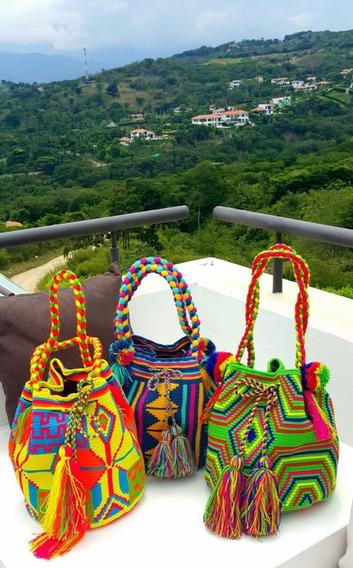 Bolso Wayuu Colombiano Original