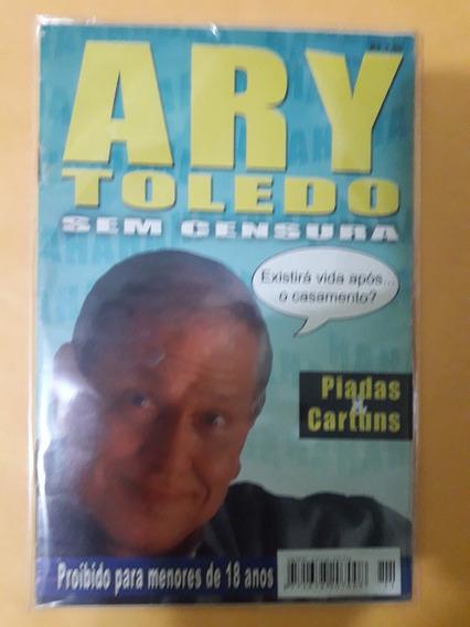 Revista Ary Toledo Sem Censura - Piadas E Cartuns