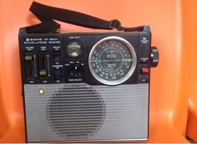 Radio Japonês Sanyo Rp 8600 Am Fm/ps Hi/ps Lo Funcionando