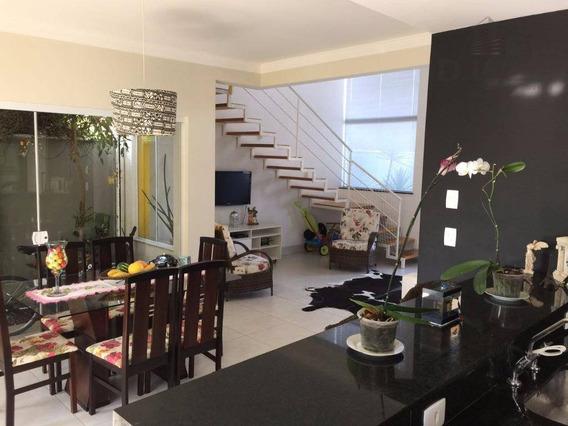 Casa Com 3 Dormitórios À Venda, 150 M² Por R$ 700.000,00 - Residencial Terras Do Barão - Campinas/sp - Ca10278