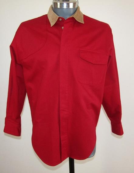 Camisa Roja Charter Club Talla L