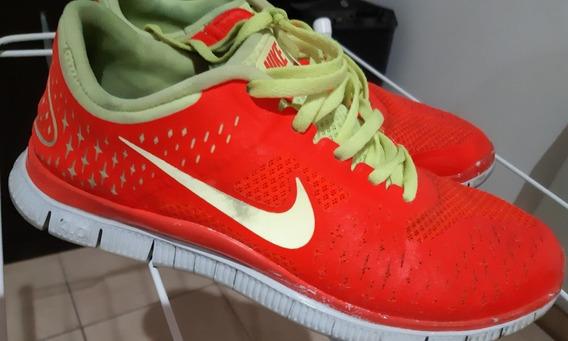 Zapatillas Nike Free 4.0 Fluo